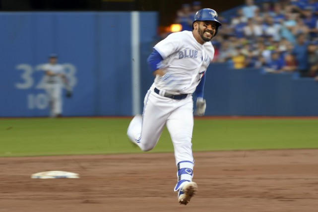 Devon Travis... (Photo Dan Hamilton, USA Today Sports)