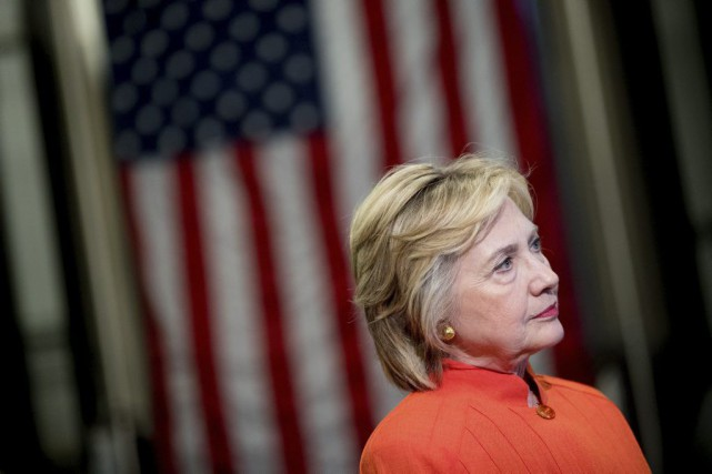 Hillary Clinton... (Photo Andrew Harnik, Associated Press)