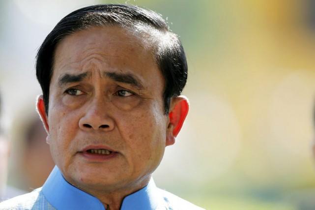 Prayut Chan-O-Cha, meneur du coup d'État de mai... (Photo Jorge Silva, Reuters)