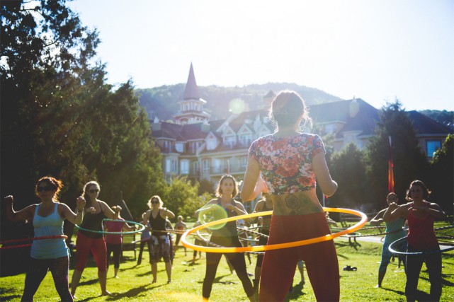 Le festival Wanderlust est de retour pour une quatrième édition à Tremblant, du... (Photo fournie par Wanderlust)