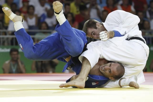 Antoine Valois-Fortiera pris la mesure de l'Argentin Emmanuel... (AFP)