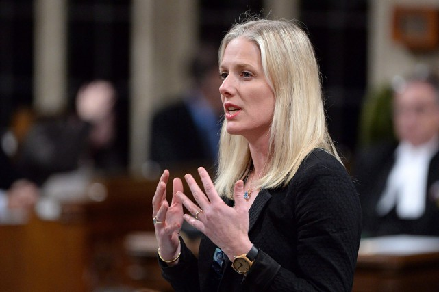 La ministre de l'Environnement, Catherine McKenna.... (Photo Adrian Wyld, archives PC)