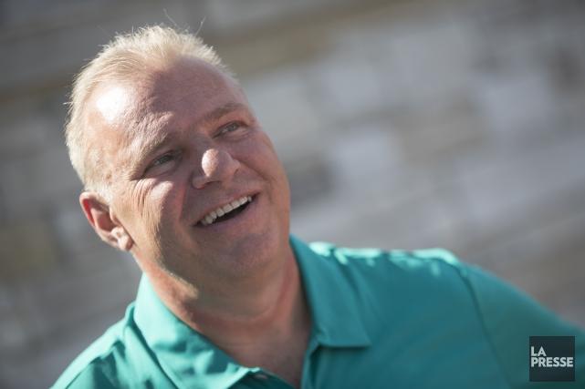 L'entraîneur-chef du Canadien Michel Therrien s'est adressé aux... (Photo Ivanoh Demers, La Presse)