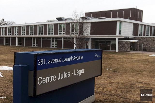 Le Centre Jules-Léger comprend une école provinciale et... (Etienne Ranger, Archives LeDroit)