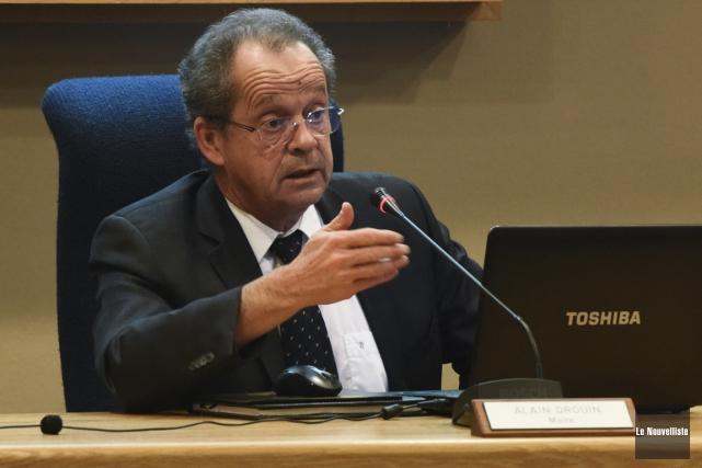 Alain Drouin a confirmé mardi sa démission de... (François Gervais, Le Nouvelliste)