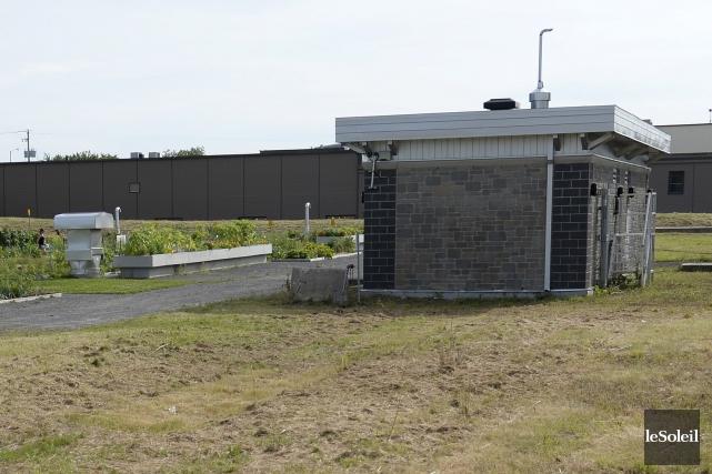 La Ville de Québec compte présentement des réservoirs... (Le Soleil, Yan Doublet)