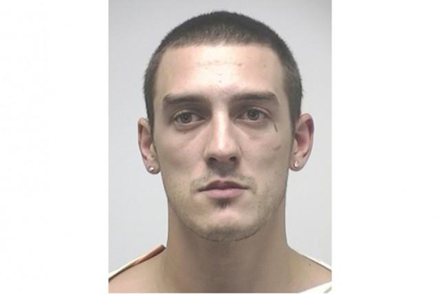 Andrew Corriveau, 29 ans, a été arrêté pour... (Courtoisie)
