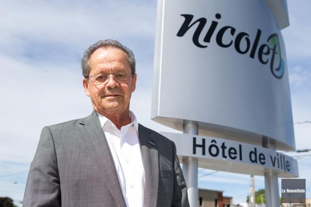 Le maire de Nicolet, Alain Drouin, a pris... (Olivier Croteau, Le Nouvelliste)