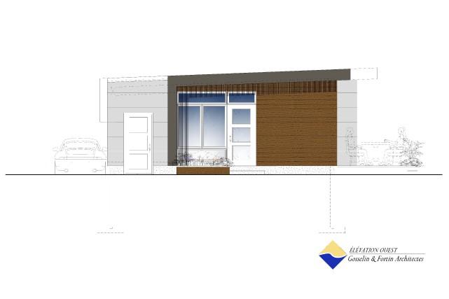 Dix maisons à l'énergie solaire passive seront érigées... (Photo courtoisie)