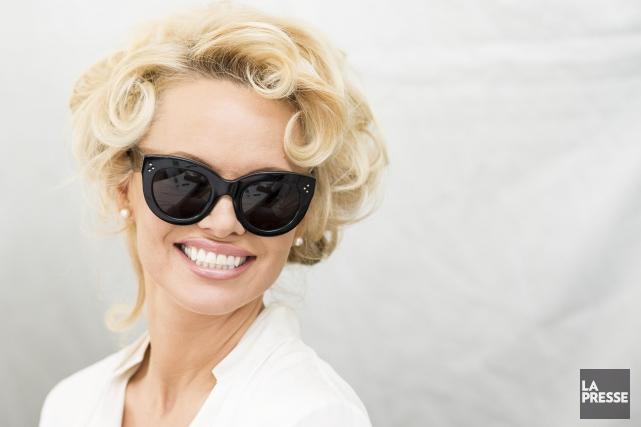 Pamela Anderson... (La Presse, Édouard Plante-Fréchette)