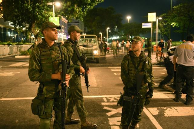 L'attaque s'est produite vers 20h00, à la hauteur... (PHOTO AFP)