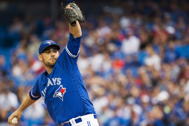 Marco Estrada... (Photo PC)