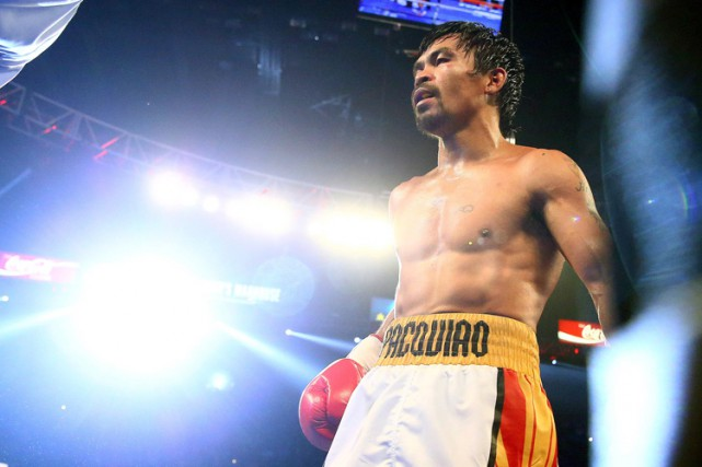 Manny Pacquiao... (PHOTO REUTERS)