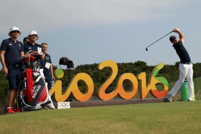 Comme il en a l'habitude lors des tournois... (PhotoAndrew Boyers, Reuters)