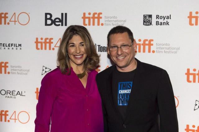 Naomi Klein et Avi Lewis étaient au Festival... (Photo Aaron Vincent Elkaim, archives La Presse Canadienne)