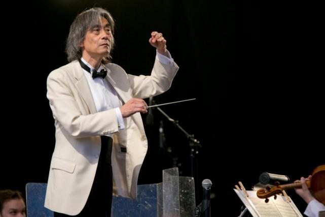 Kent Nagano dirigera, ce soir, un concert gratuit... (PHOTO DAVID BOILY, LA PRESSE)