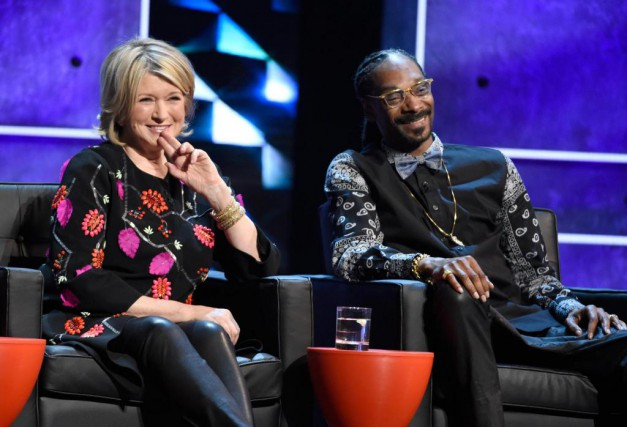 Martha Stewart et Snoop Dogg coanimeront Snoop's Dinner... (Photo Chris Pizzello, Archives Associated Press)