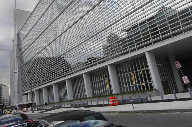 Le siège de la Banque mondiale, à Washington.... (Photo archives Bloomberg News)