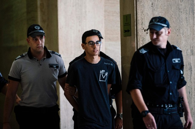 Mourad Hamyd, 20 ans, a qualifié son arrestation... (PHOTO DIMITAR DILKOFF, AFP)