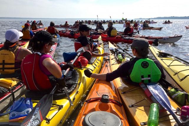 À une semaine du début du deuxième Défi kayak Desgagnés de 265 km entre... (Collaboration spéciale, Jean-Sébastien Massicotte)