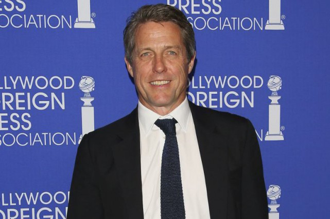 Hugh Grant au souper de la Hollywood Foreign... (PHOTO ARCHIVES AFP)