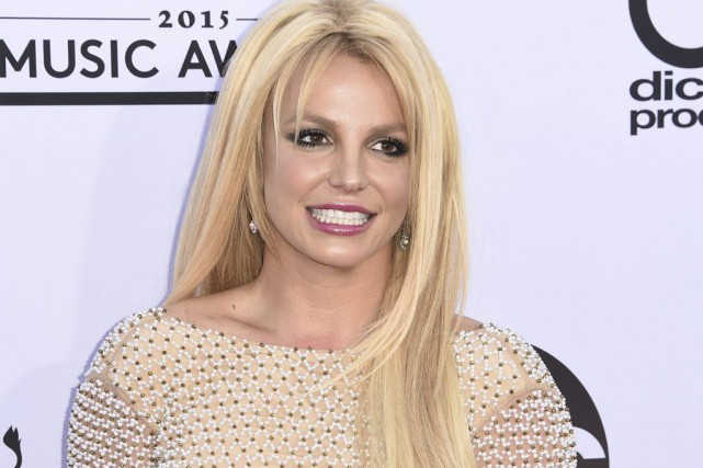 Britney Spears lors des Billboard Music Awards en... (PHOTO ARCHIVES AFP)