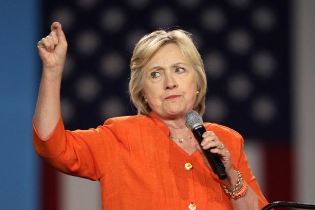 La candidate démocrate à la présidentielle, Hillary Clinton... (PHOTO Gregg Newton, AFP)
