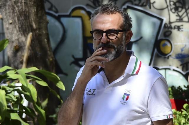 Le chef italien Massimo Bottura, considéré comme le... (AFP)