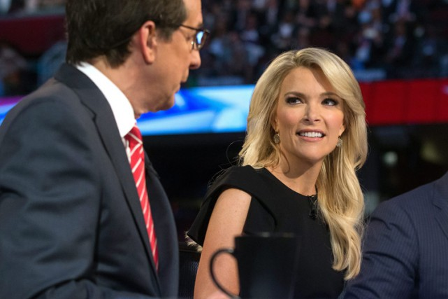 La journaliste de Fox News Megyn Kelly, lors... (PHOTO ARCHIVES AP)