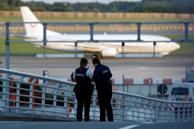 La Belgique est en état d'alerte depuis les... (PHOTO REUTERS)