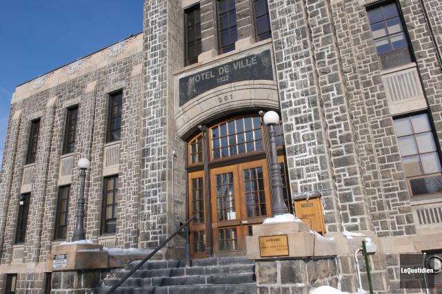 L'hôtel de ville de Saguenay... (Archives Le Quotidien, Mariane L. St-Gelais)