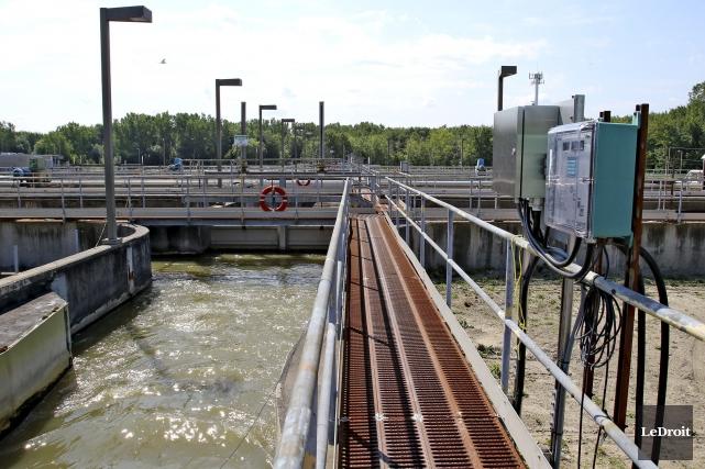 L'usine de traitement des eaux usées de la... (Patrick Woodbury, LeDroit)