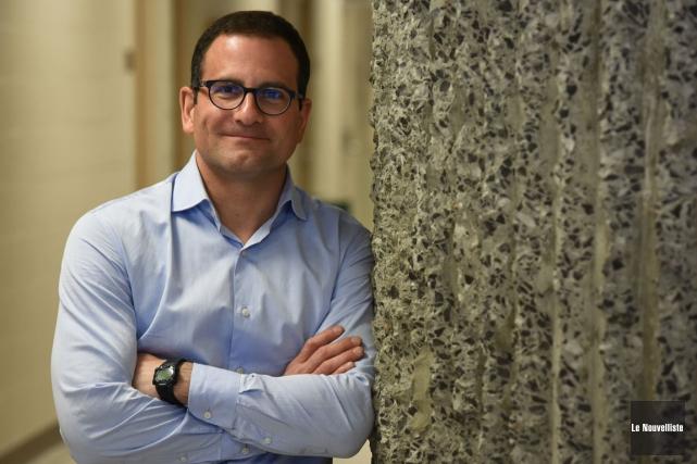 Le professeur en économie de l'UQTR, Frédéric Laurin.... (Francois Gervais, Le Nouvelliste)