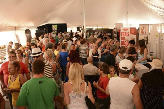 Fromages et produits du terroir seront à l'honneur, à Saint-Prime, ce week-end.... (Photo courtoisie)