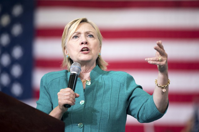 Hillary Clintona pris une forte avance dans les... (AP, Andrew Harnik)