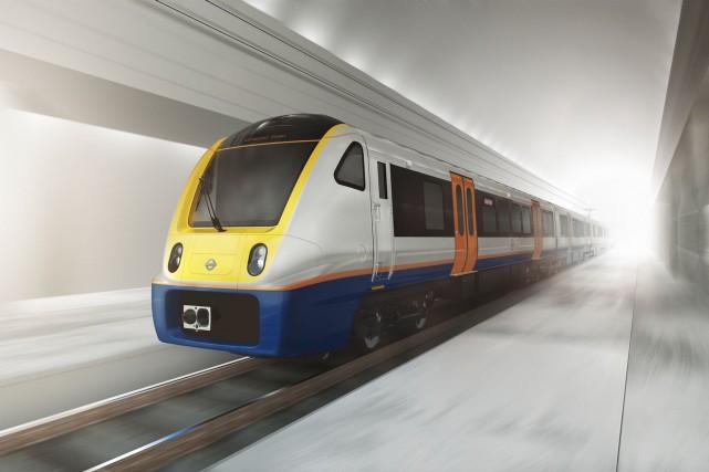Bombardier fabriquera 660 voitures de train Aventra, qui... (fournie par Bombardier)