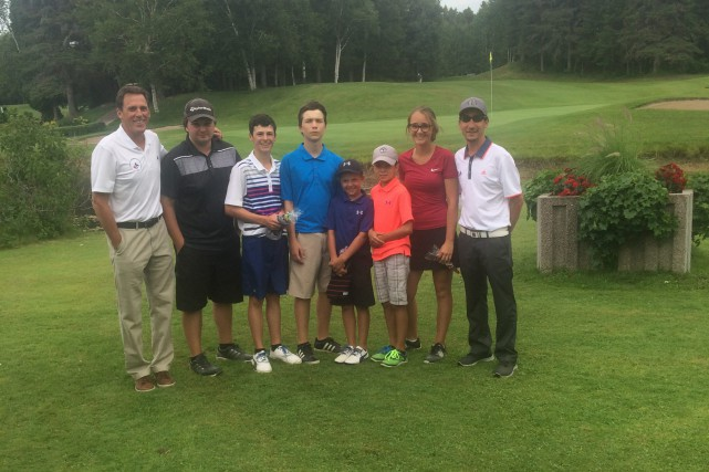 Le président régional de Golf Québec, Louis Aubin,... (Photo courtoisie)