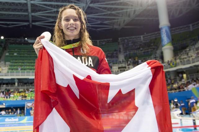 Déjà double médaillée, la Torontoise de 16 ans... (PHOTO PC)
