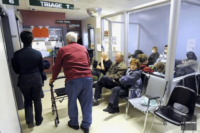 En janvier 2017, près de 45 000 patients... (Archives, La Tribune)