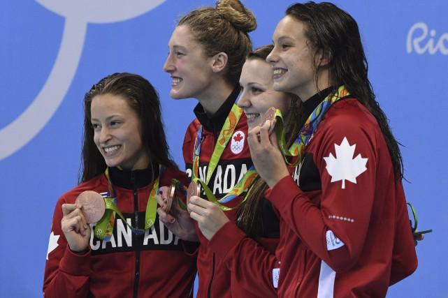 Katerine Savard, de Pont-Rouge, Taylor Ruck, Brittany MacLean... (La Presse Canadienne, Sean Kilpatrick)