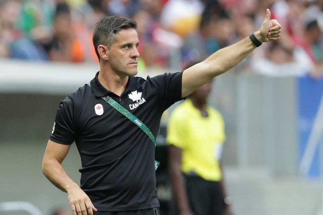 L'entraîneur-chef, John Herdman... (Archives, Associated Press)