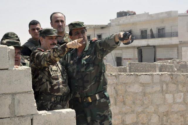 La Syrie est l'un des grands dossiers sur... (photo SANA, LOUAI BESHARA / archives afp)