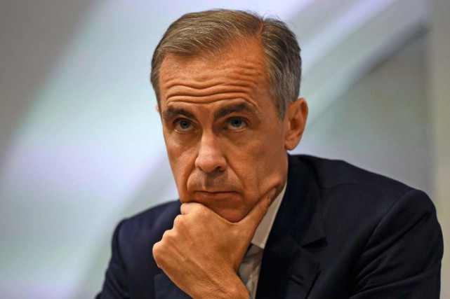 Mark Carney, gouverneur de la Banque d'Angleterre... (Photo Dylan Martinez, archives Reuters)