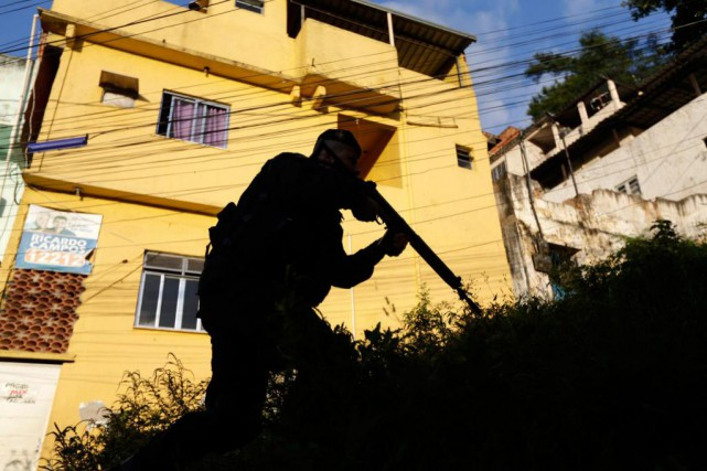 À Rio, 20 % des homicides sont commis par... (photo Ricardo Moraes, archives reuters)