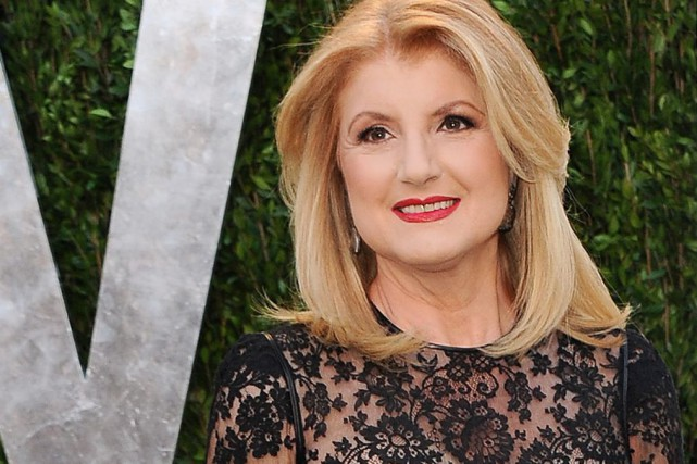 Arianna Huffington au party des Oscars de Vanity... (PHOTO ARCHIVES AP)