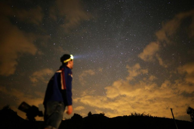 Grâce à Jupiter et si le temps n'est... (PhotoMARCO BERTORELLO, archives Agence France-presse)