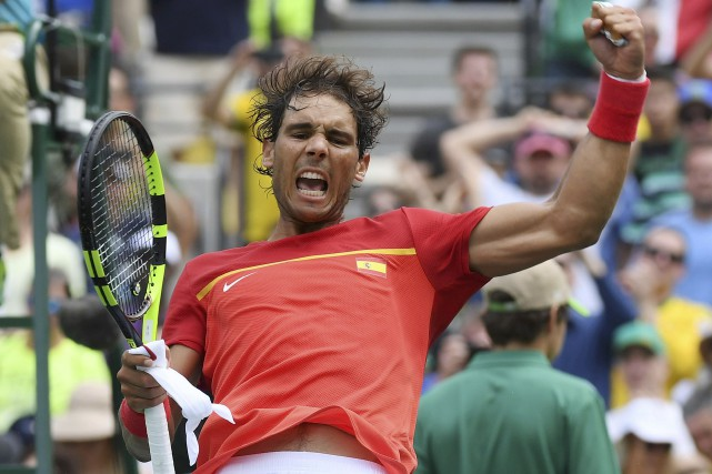 Rafael Nadal... (Photo Toby Melville, REUTERS)