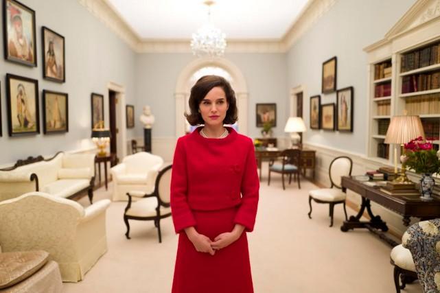 Jackie met en vedette Natalie Portman dans la... (CAPTURE D'ÉCRAN)