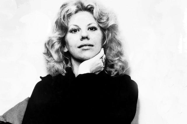 Erica Jong en 1977.... (CAPTURE D'ÉCRAN)