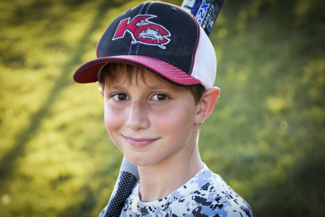 Caleb Thomas Schwab, 10 ans, est mort dimanche... (AP, David Strickland)